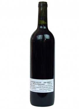 Shiraz Plain Label